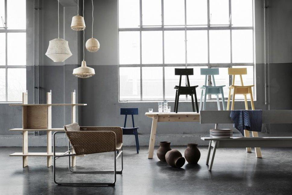 ... Zusammen Mit Designer Piet Hein Eek Stellt Ikea Mit Der Industriell Kollektion  Die Uniformität Der Massenproduktion Auf Den Kopf Foto: Ikea