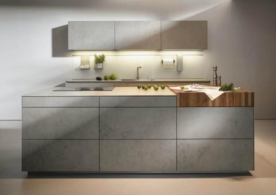 Neue Werkstoffe an der Küchenfront - DesignIgel