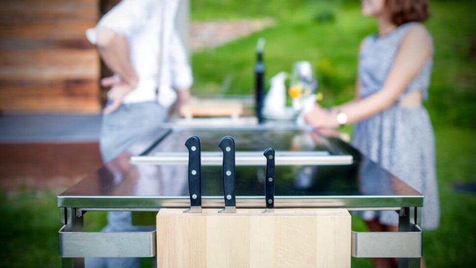 Outdoorküche Gas Japan : Outdoorküche u2013 bratwurst war gestern designigel