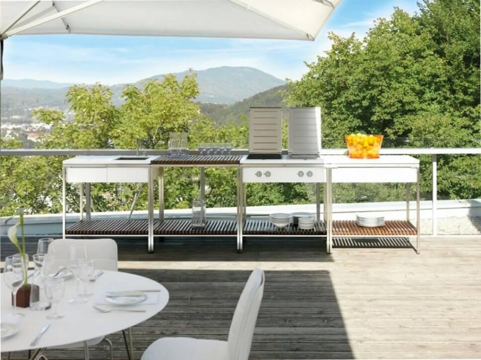 Wesco Outdoor Küchen : Outdoorküche u bratwurst war gestern designigel