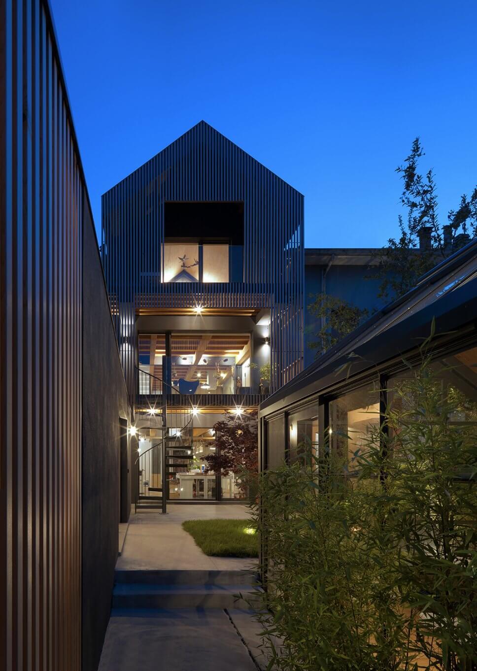 Einfamilienhaus in moderner Architektur